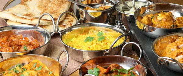 Taste the Indian Food at Agra